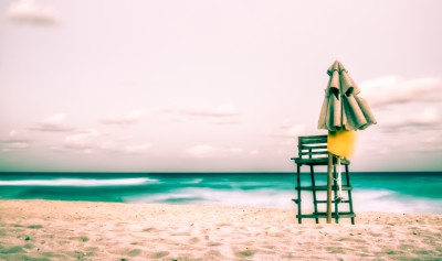 Cabo Beach Lifeguard Chair