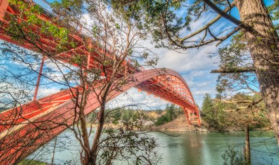 Rainbow Bridge La Conner