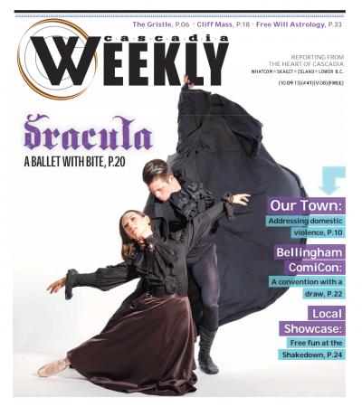 Dracula ballet dancers for Mount Baker Theatre