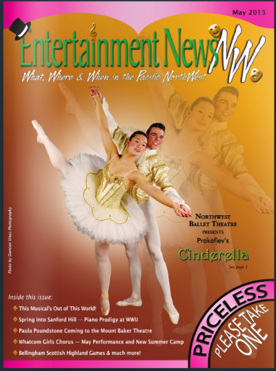 Cinderella magazine cover NW Ballet