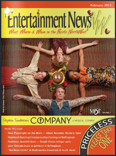 Play cover for Company Steven Sondheim play Mount Baker Theatre