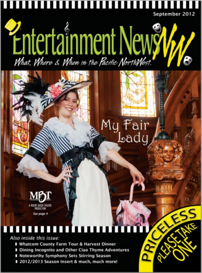 Eliza Doolittle character for Mount Baker Theatre My Fair Lady