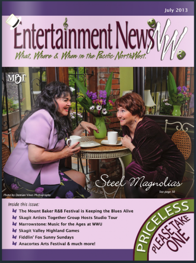 Steel Magnolias play magazine cover