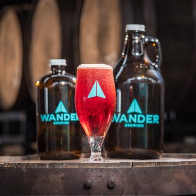 Millie Sour beer from Wander Brewing Co