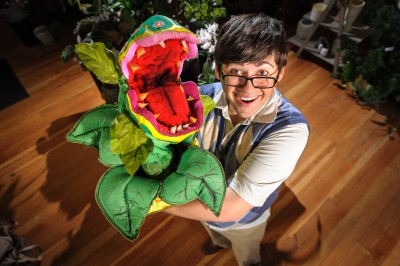 Little Shop of Horrors Seymour and audrie twoey plant