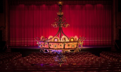 Mount Baker Theatre Chandellier