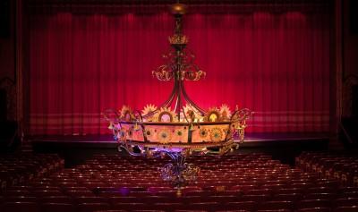Mount Baker Theatre Chandellier