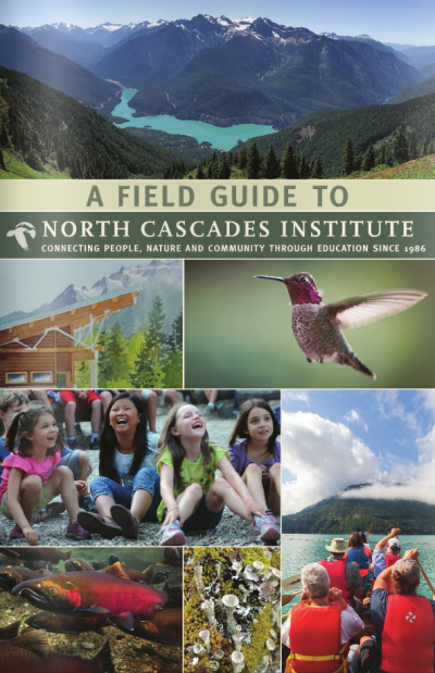 photo of the cover of North Cascades field guide