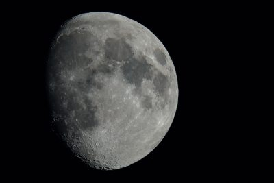 Hi detail giant moon photo